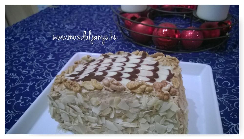Eszterházy torta diétásan