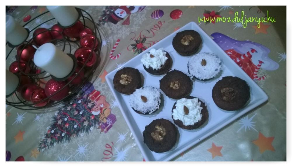 Muffinok karácsonyra