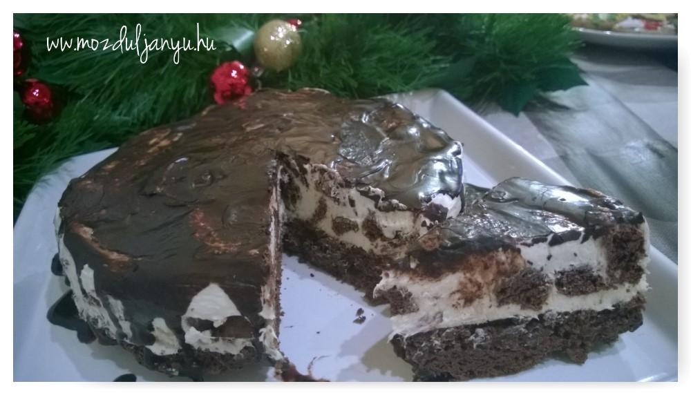 Oreo torta szénhidrátmentesen