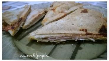háromszög szendvics nocarb
