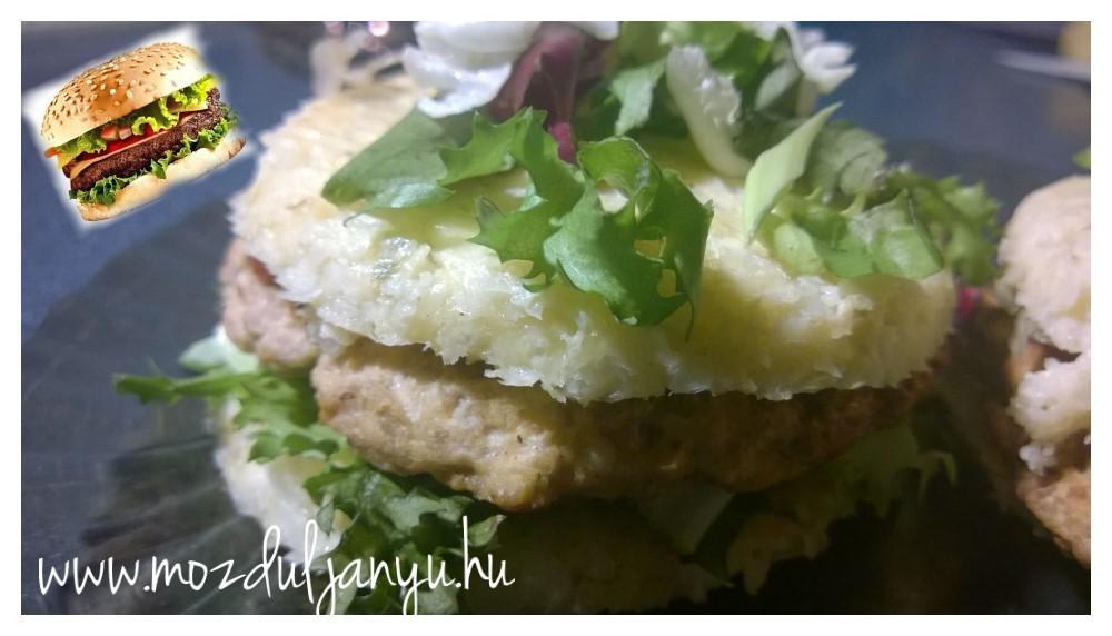 Karfiol burger