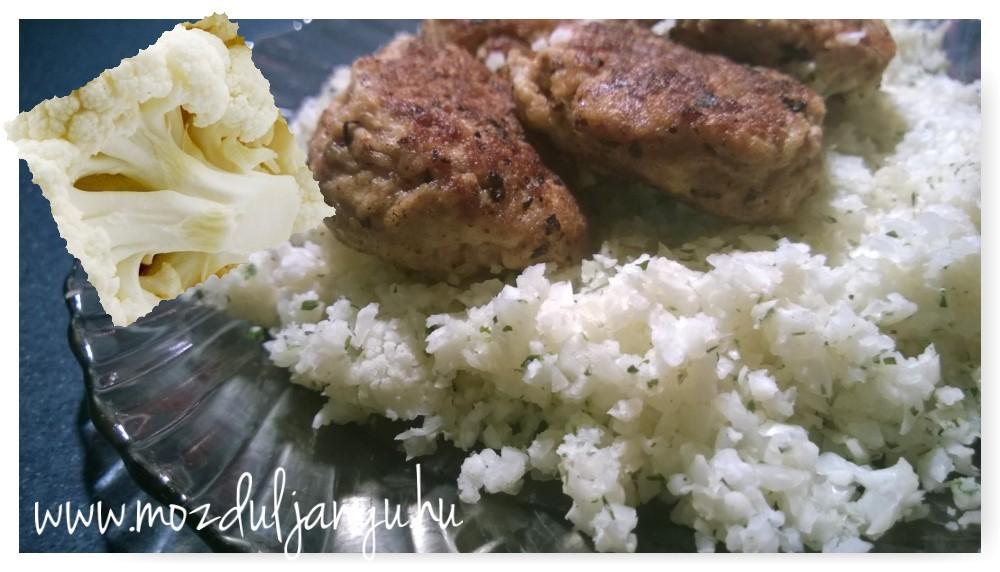 Karfiol: rizs helyett, mert ez vigyáz az alakodra!