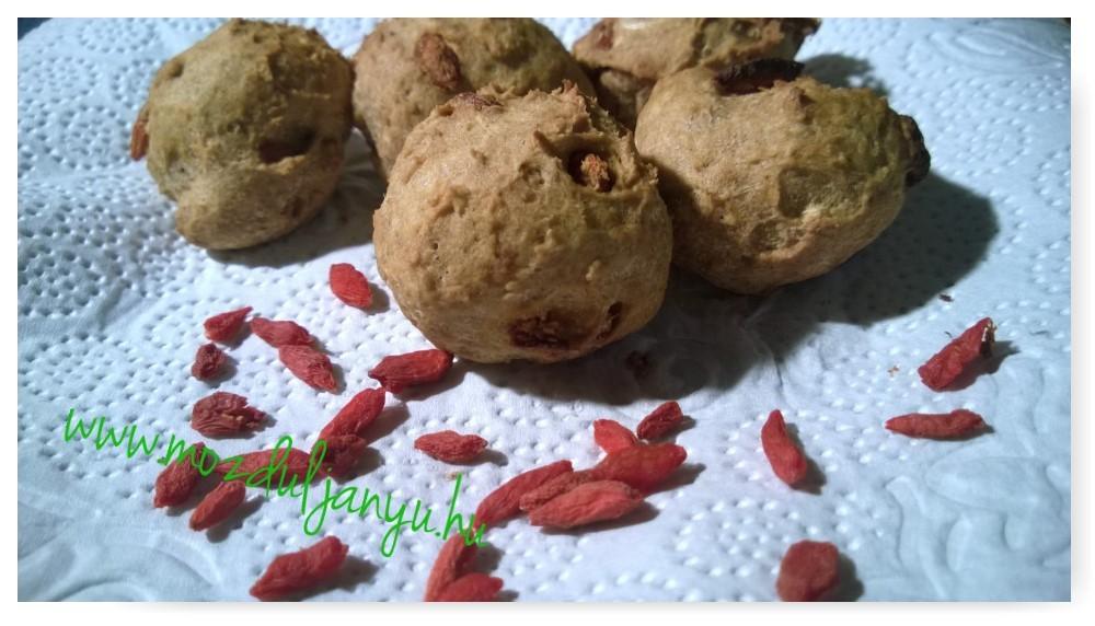 Goji bogyós NoCarb muffin