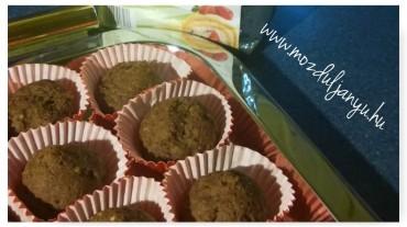 mogyorós kakaós muffin
