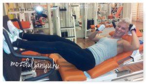 edzés a teremben