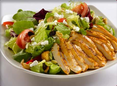 Finom saláták a tökéletes alakért