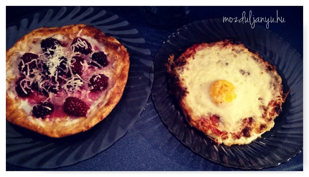 Egy tészta, két pizza