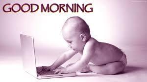 morning laptop