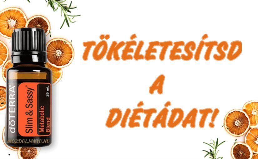 Tökéletesítd a diétádat doTerra Smart&Sassy olajjal