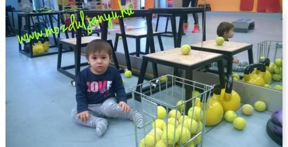edzés gyerekkel Mia 1 éves