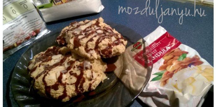 nocarb cookies mandulás